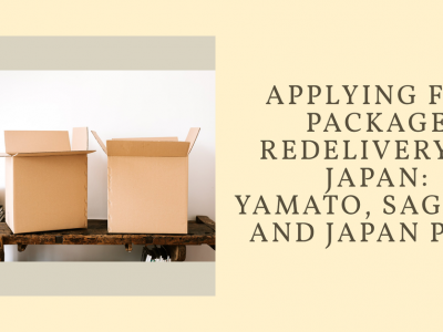 Package Redelivery in Japan - Yamato, Sagawa, and Japan Post